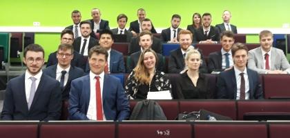 Les élèves-ingénieurs du cycle ingénieur par apprentissage de l'ESITC Paris en formation à l'Hanze University of Applied Sciences de Groningen