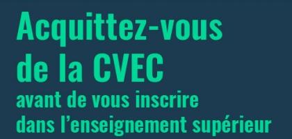 La Contribution de Vie Étudiante et de Campus (CVEC)