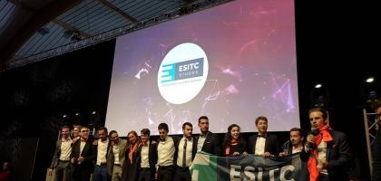L'ESITC Etudes, la JE de l'ESITC Paris, Meilleur Espoir des Junior - Entreprises 2019 !