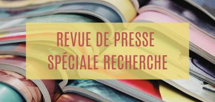 Les Revues de presse Recherche de l'ESITC Paris