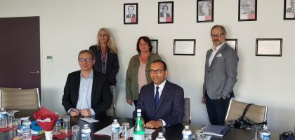 Signature d'un partenariat entre l'ESITC Paris et l'ISIT!