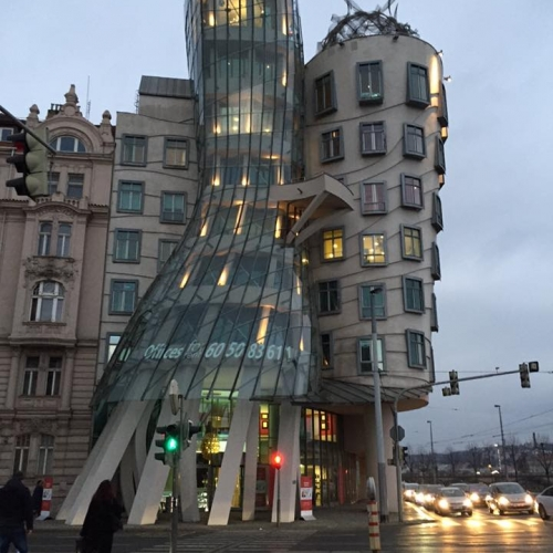 Prague The Dancing House - 2016