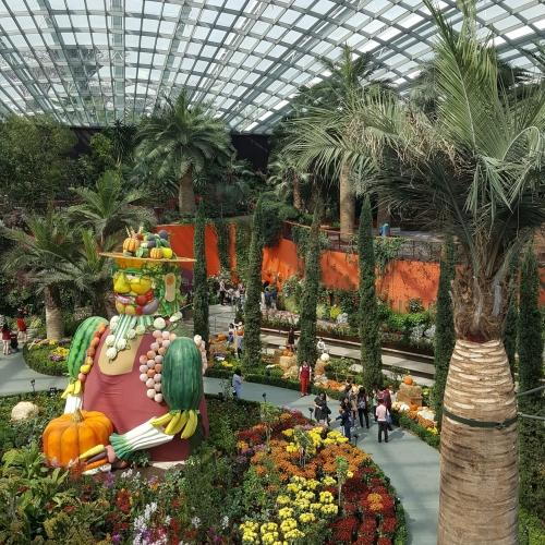 Singapour Le jardin des Courges 2017 - Julie & Noémie TC4A