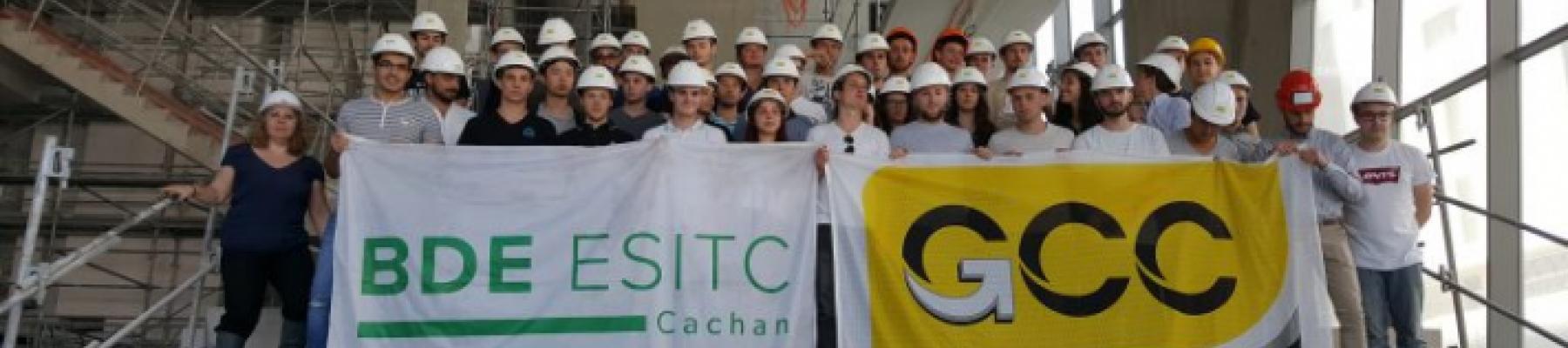 Des étudiants de l'ESITC Cachan en...