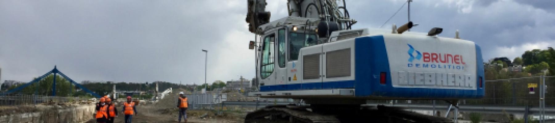 L'ESITC CACHAN sur un chantier de déconstruction!